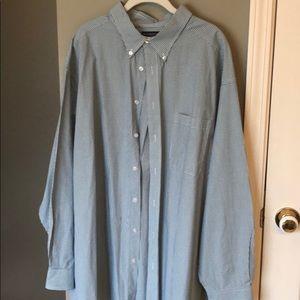 Roundtree & Yorke Men's Dress Shirt Size 3XB